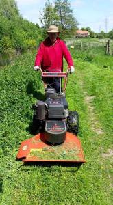 Alan and his Mower
