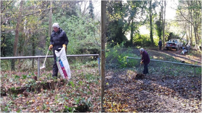 Clean up of Marriot's Way Drayton