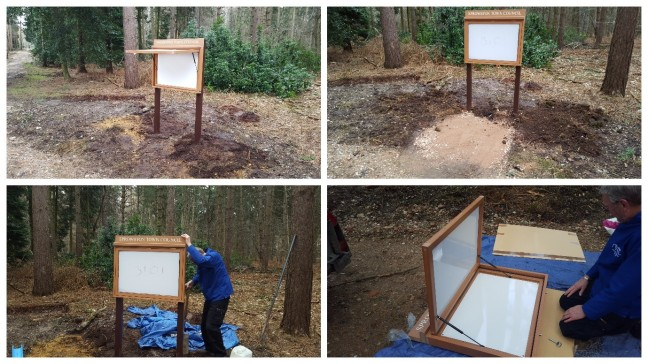 Interpretation Board Installation