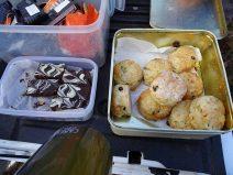 Tiffin Delights & Sugarless Fruit Scones